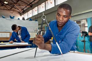 African-worker