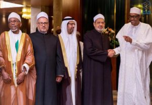 Grand Imam of al-Azhar visits Nigeria